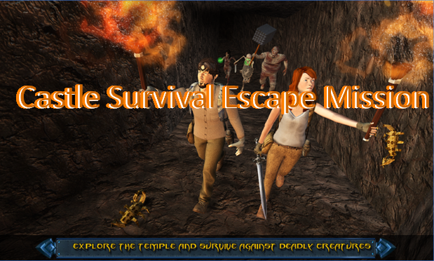 castillo misión de supervivencia de escape