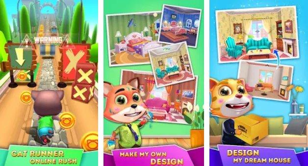 Katzenläufer Design-Haus APK Android