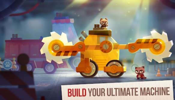 gatos crash arena turbo stars APK Android