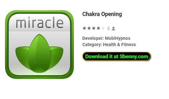 apertura de chakra
