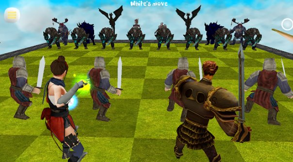 chess 3d animation real battle chess 3d online APK Android