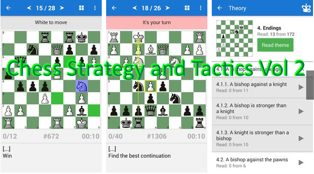 chess strategy and tactics vol 2