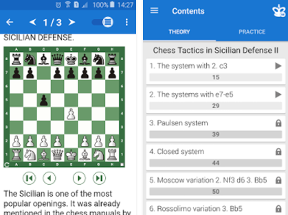 Chess Tactics  Sicilian Def 2 MOD APK for Android Free Download