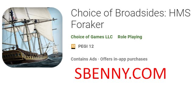 choice of broadsides hms foraker