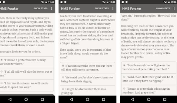 choice of broadsides hms foraker APK Android