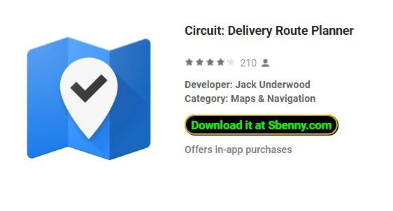 circuit delivery route planner