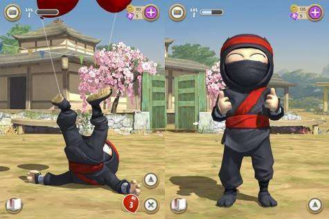 Clumsy Ninja MOD APK Android Spiel kostenlos heruntergeladen werden