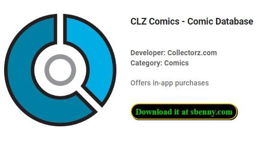 database comico di fumetti clz
