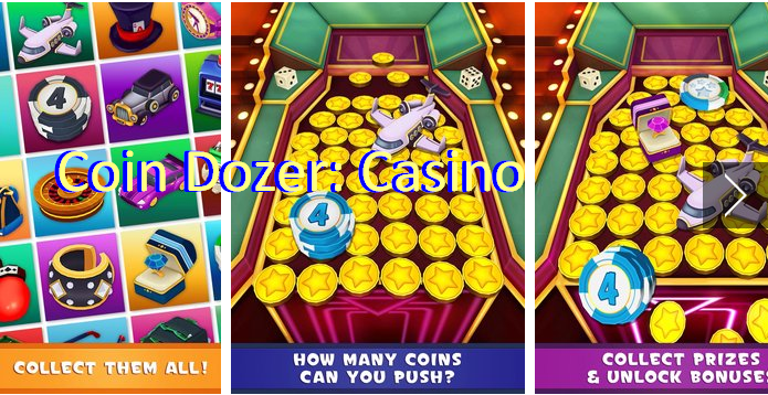 Coin Dozer:Casino Unlimited Coins & Gems MOD APK Download