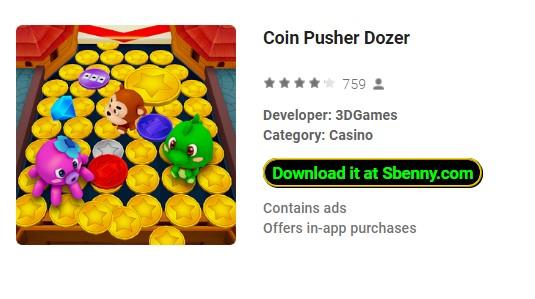 Coin Pusher Dozer Unlimited Coins & Gems MOD APK Download
