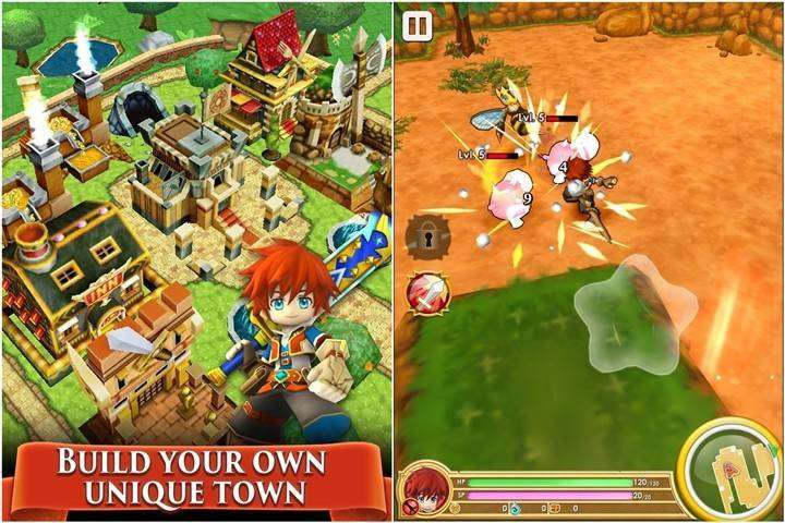 Colopl Rune Story MOD APK Android Game Free Download