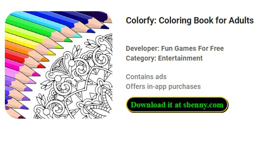 Colorfy Premium Purchase Unlocked Mod Apk Descarga Gratuita