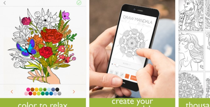 Colorfy Coloring Book For Adults Free APK Android