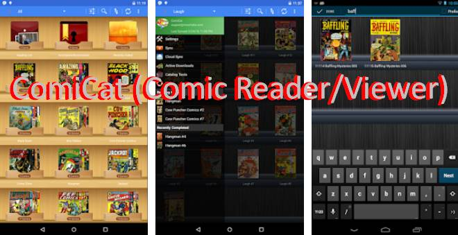 comicat comic reader viewer