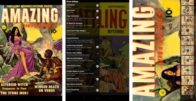 comicat comic reader viewer APK Android