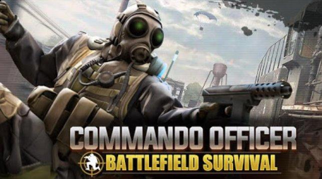 Kampfoffizier Schlachtfeld Überleben