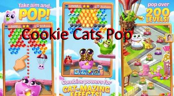 gatos de la galleta pop