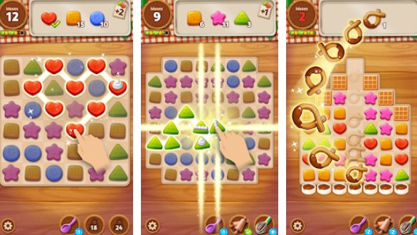 Cookie Crunch Link Match Puzzle APK Android