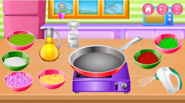 cooking in the kitchen APK Android