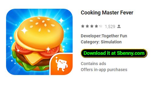 download game cooking fever mod apk