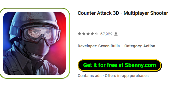 Gegenangriff 3d Multiplayer-Shooter