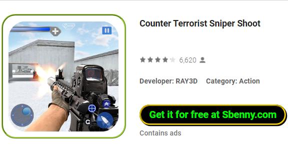 Contra el francotirador terrorista