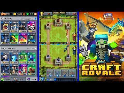 Craft Royale - Clash of Pixels MOD APK Android Free Download
