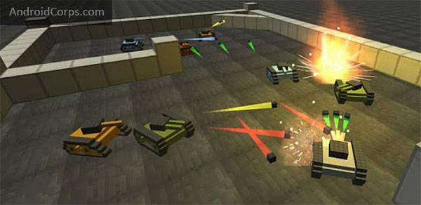 Craft Tank MOD APK Android Descarga gratuita juego