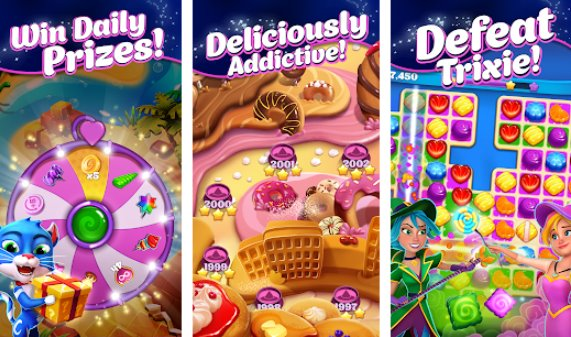 crafty candy match 3 aventura APK Android