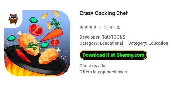 chef cuisinier fou