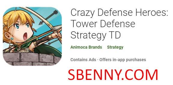 сумасшедшие герои обороны башня обороны стратегия тд