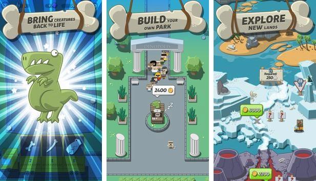 Crazy Dino Park MOD APK Android