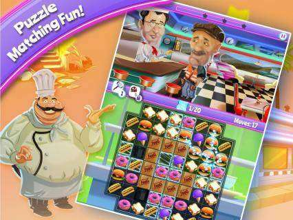 Crazy kitchen unlimited lives hack apk android download for Kitchen queen mod apk