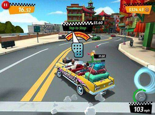 Crazy Taxi City Rush MOD APK Android Free Download