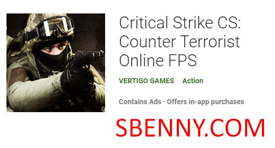 ataque crítico cs contra terrorista fps en línea