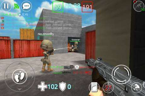 Critical Strikers Online FPS MOD APK Android Free Download