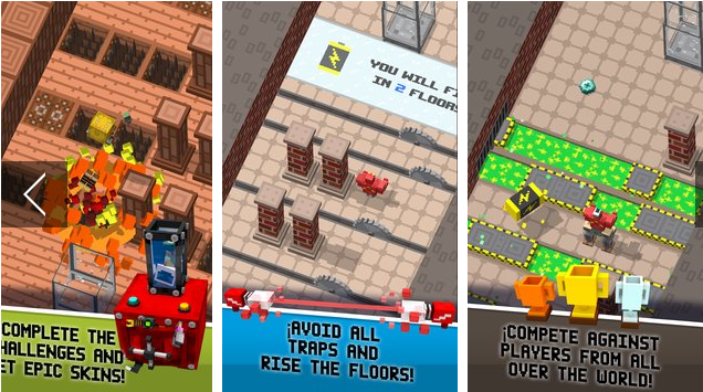 robot Crossy combinar pieles APK Android