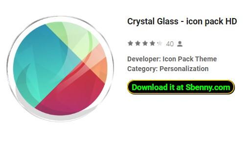 icône de verre cristal pack hd