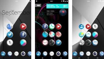 verre en cristal icône pack hd APK Android