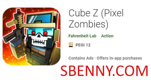 Cubo Z Pixel Zombies