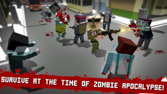 cube z pixel zombies APK Android