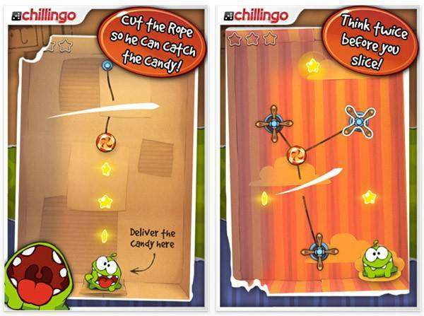 Cut The Rope HD APK Android Game Free Download