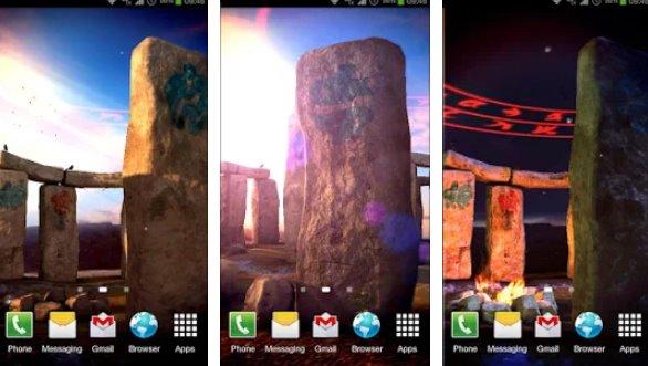 3D Стоунхендж про LWP APK Android