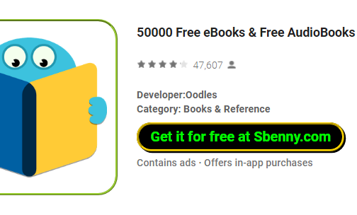 50000 Free eBooks Full Version Unlocked MOD APK Download