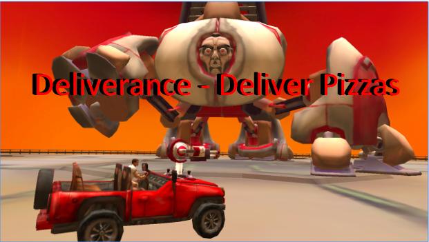 Deliverance entregar pizzas