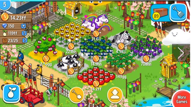 Farm Away Idle Farming