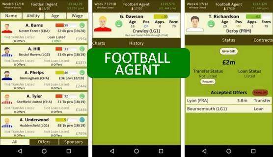 Football Agent Unlimited Money MOD APK Android Download