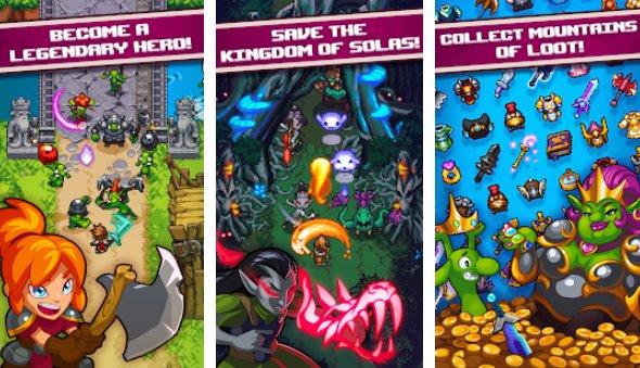 Schlag Quest Helden APK Android