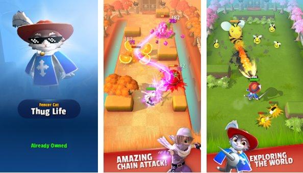 Dashero Bogenschütze und Schwert 3D Offline-Arcade-Shooting APK Android
