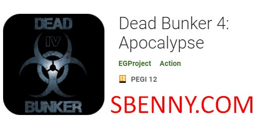 toten Bunker 4 Apokalypse